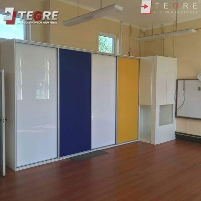 High Gloss & Color Glass Sliding Doors 13