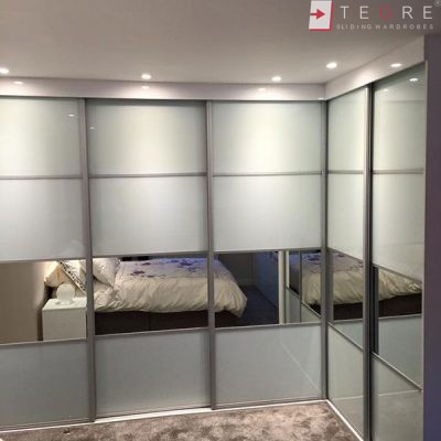 High Gloss & Color Glass Sliding Doors 27