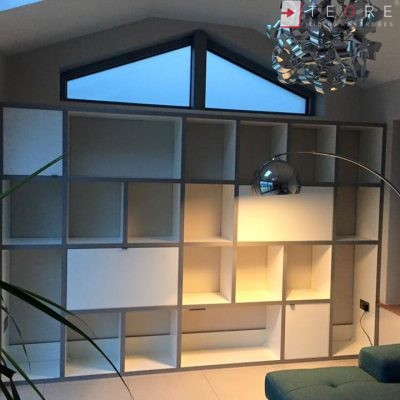 High Gloss & Color Glass Sliding Doors 44