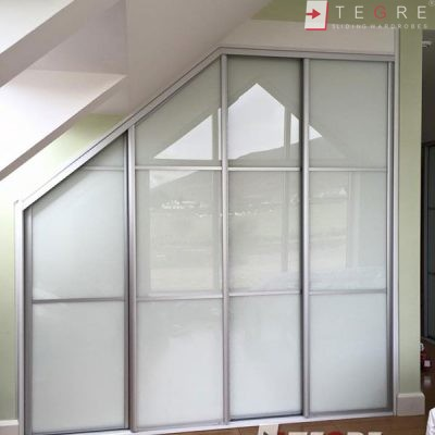 High Gloss & Color Glass Sliding Doors 62