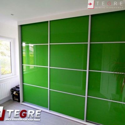 High Gloss & Color Glass Sliding Doors 7