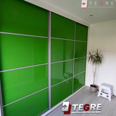 High Gloss & Color Glass Sliding Doors 8