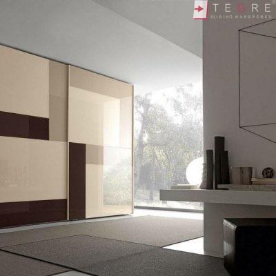 Cream Glass Sliding Wardrobes & Doors 21