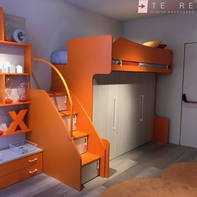 Kids Bedrooms – Sliding, Fitted Wardrobes 01
