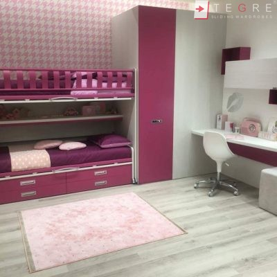 Kids Bedrooms – Sliding, Fitted Wardrobes 06