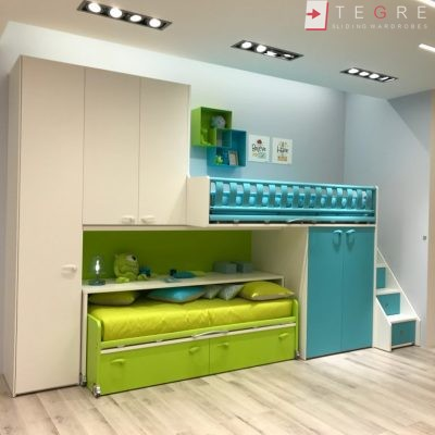 Kids Bedrooms – Sliding, Fitted Wardrobes 09