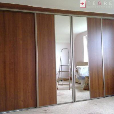 Mirror & Panel Finish Sliding Wardrobe 03