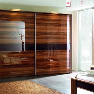 Mirror & Panel Finish Sliding Wardrobe 12