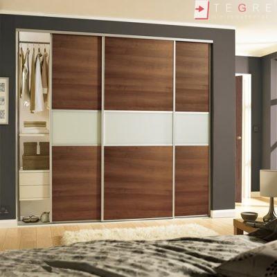 Mirror & Panel Finish Sliding Wardrobe 18