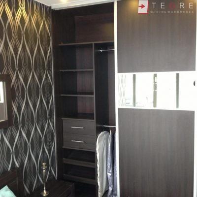 Mirror & Panel Finish Sliding Wardrobe 20