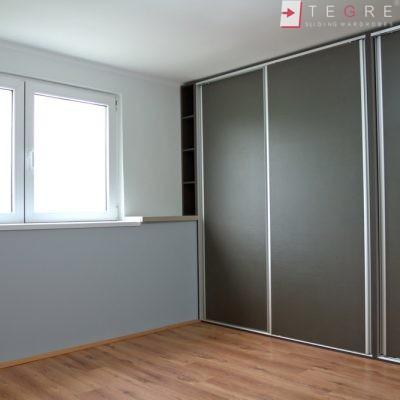 Mirror & Panel Finish Sliding Wardrobe 24
