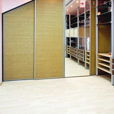 Mirror & Panel Finish Sliding Wardrobe 26