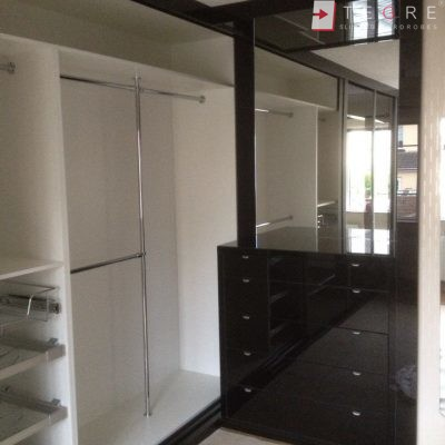 Black Glass Wardrobe Gallery Sliding Fitted Amp Built In