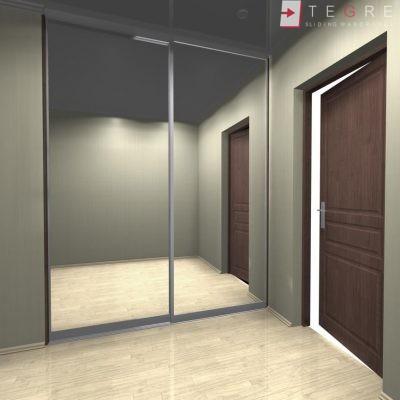 Sliding, Fitted Hallway Wardrobes 07