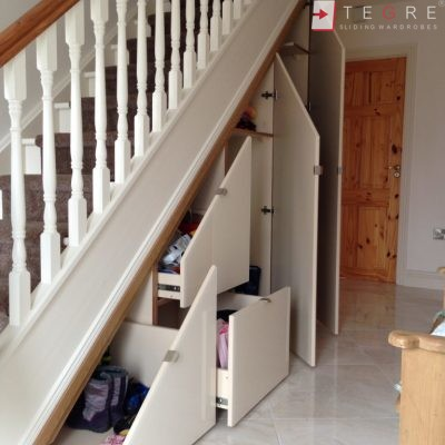 Sliding, Fitted Understairs Wardrobes & Doors 03