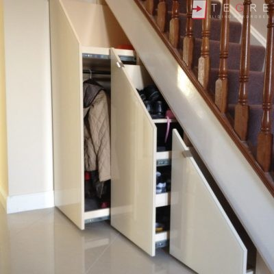 Sliding, Fitted Understairs Wardrobes & Doors 05