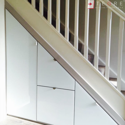 Sliding, Fitted Understairs Wardrobes & Doors 06