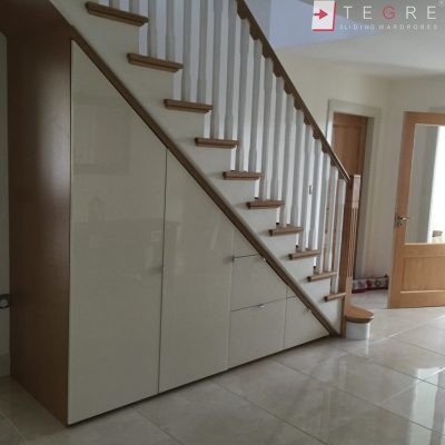 Sliding, Fitted Understairs Wardrobes & Doors 07