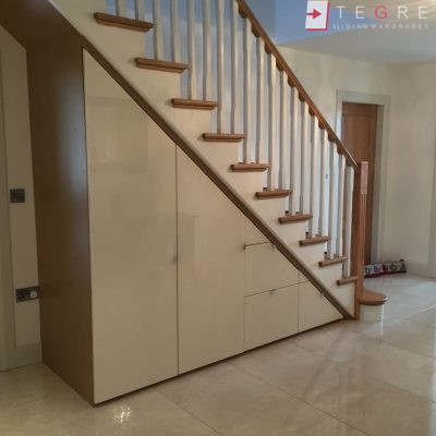 Sliding, Fitted Understairs Wardrobes & Doors 08