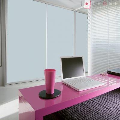White Panel & White Glass Sliding & Built In Wardrobe 34