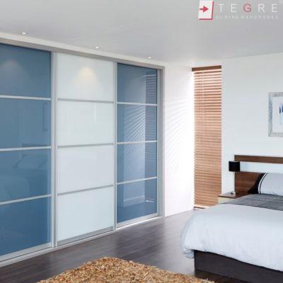 Sliding Wardrobes Color Glass Petrol Blue 01 2