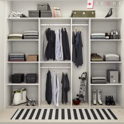 Walk In Wardrobes White 12