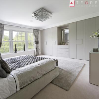 Traditional Wardrobes Plain Bedroom Stone Grey