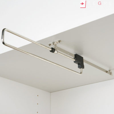 Wardrobe Accessories Pull Out Wardrobe Rail Length 260 460 Mm Load Capacity 3 8 Kg